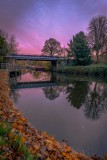 Sprotbrough Falls Bridge by Martin Bailey