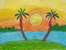 Sunset Scenery by Zaynab Abdul-Jabbar
