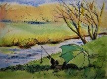 """Sunday afternoon by the River Dearne"" by Helen Smyly"