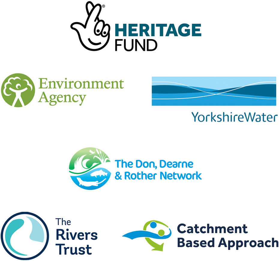 Environment Agency, Heritage lottery Fund, The Don Network , partner of DCRT
